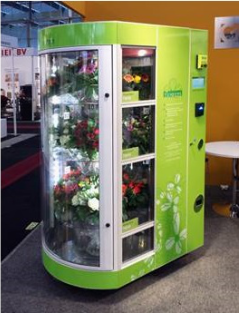 Flower vending machine