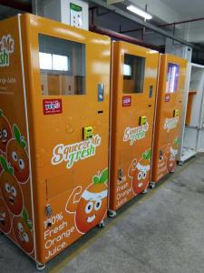 New Orange Juice Vending machine